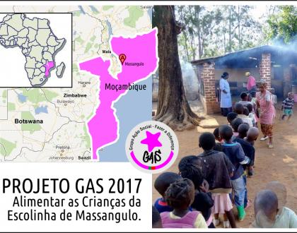 Alimentar As Crianças da Escolinha de Massangulo, Moçambique