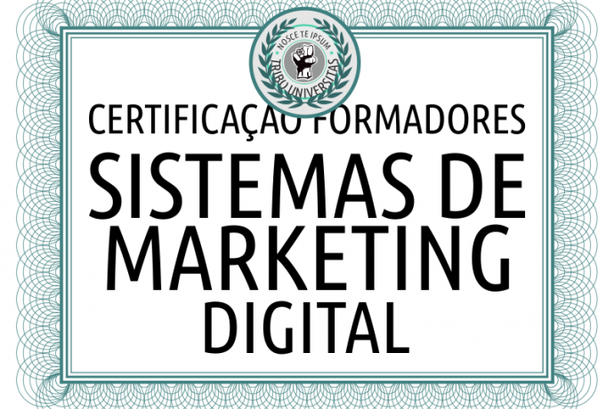 Certificação Consultor Sistemas de Marketing Digital