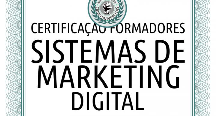 Certificação de Formadores em Sistemas de Marketing Digital da Universidade da Tribo